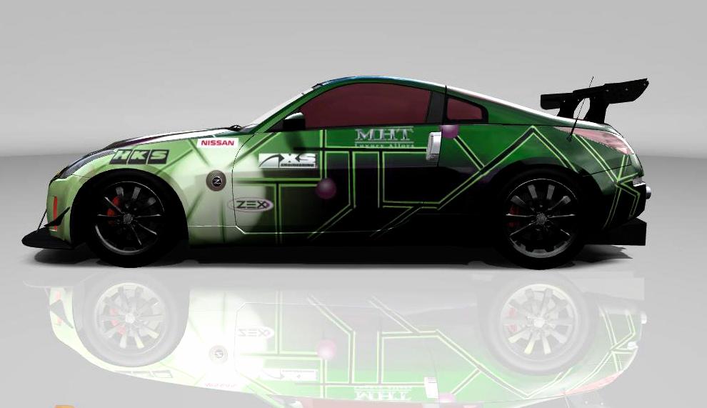 Nissan 350z Touring Car Drift Shock Scheme Vt Portfolio